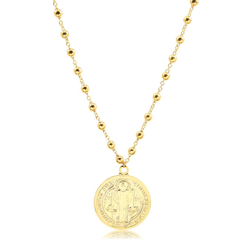 colar-co-bolinha-e-medalha-de-sao-bento-banhado-a-ouro-18-k
