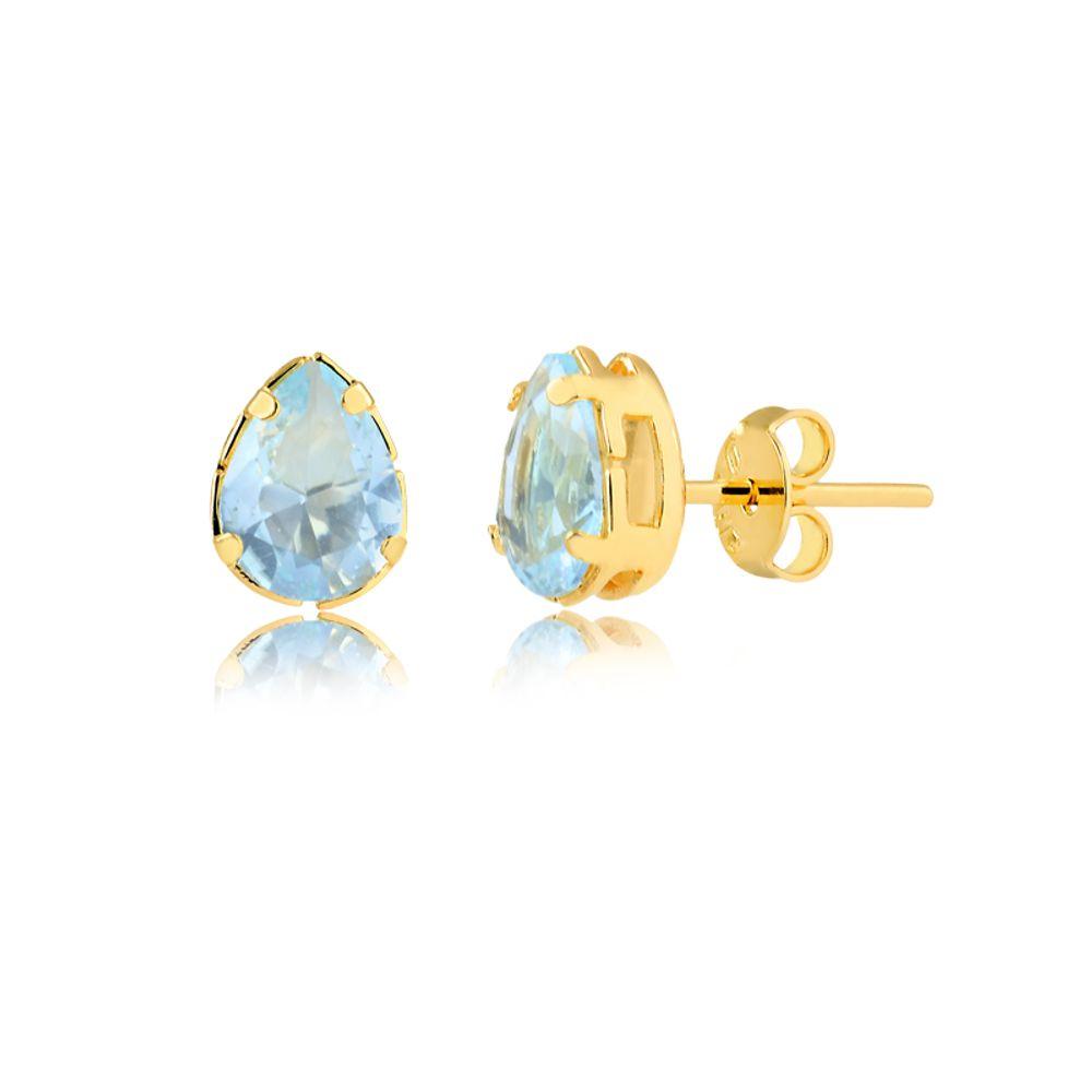 brinco-pedra-azul-agua-banhado-a-ouro-18-k