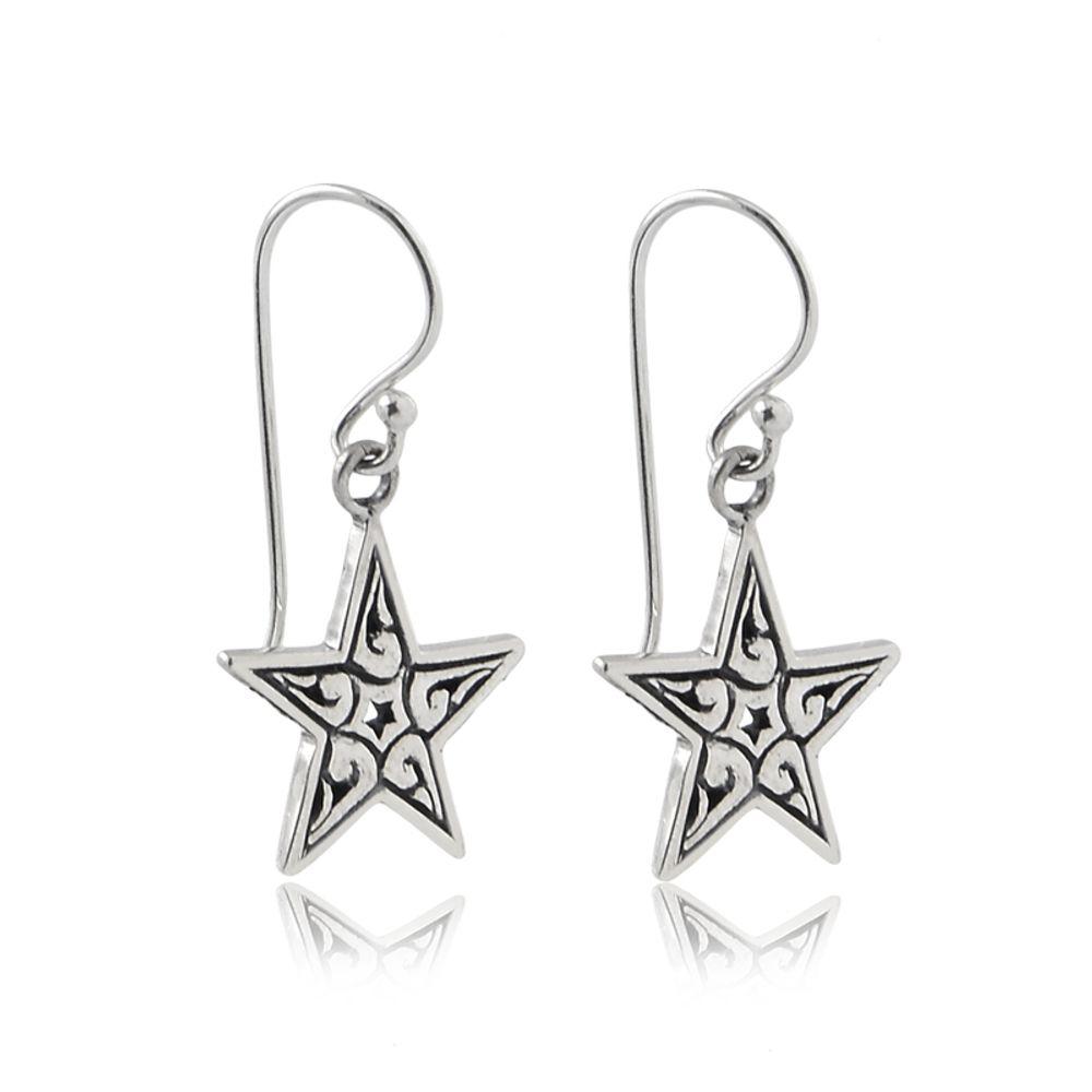 brinco-estrela-em-prata-envelhecida-em-prata-925