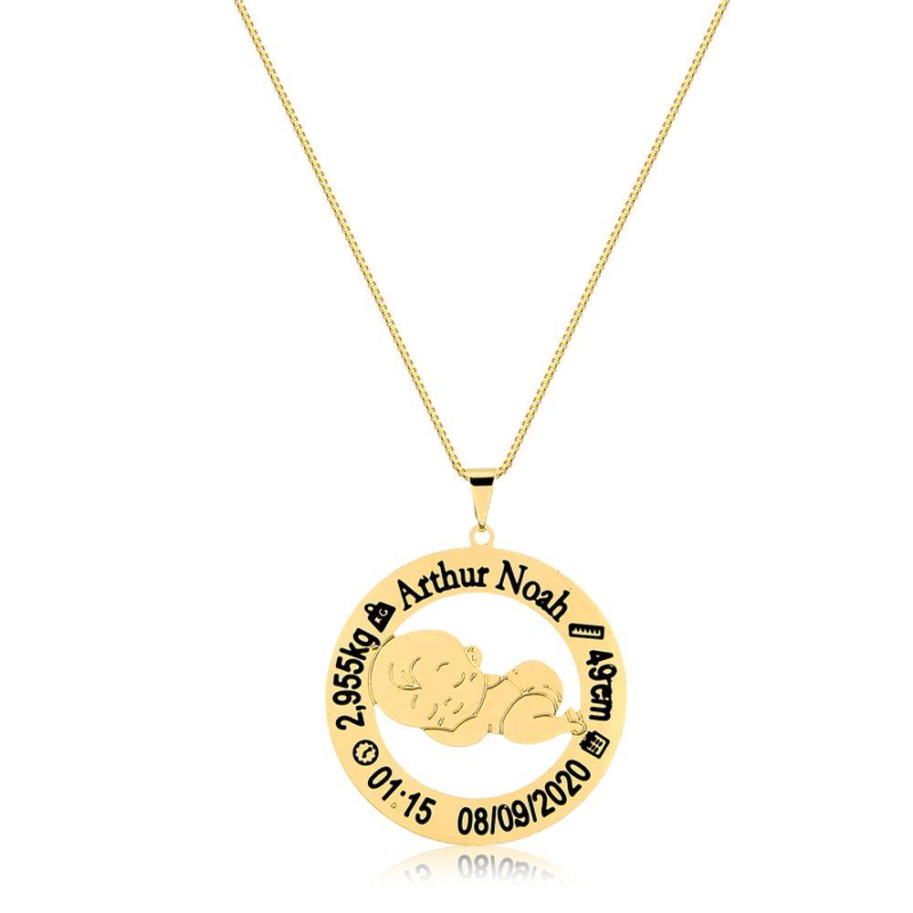 colar-personalizado-de-bebe-banhado-a-ouro-18-k