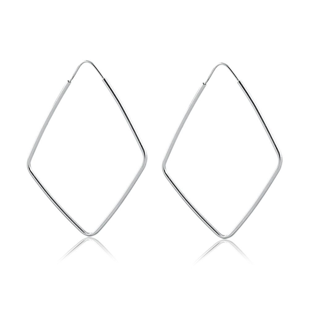 Argola-com-design-de-losango-grande-em-prata-9254