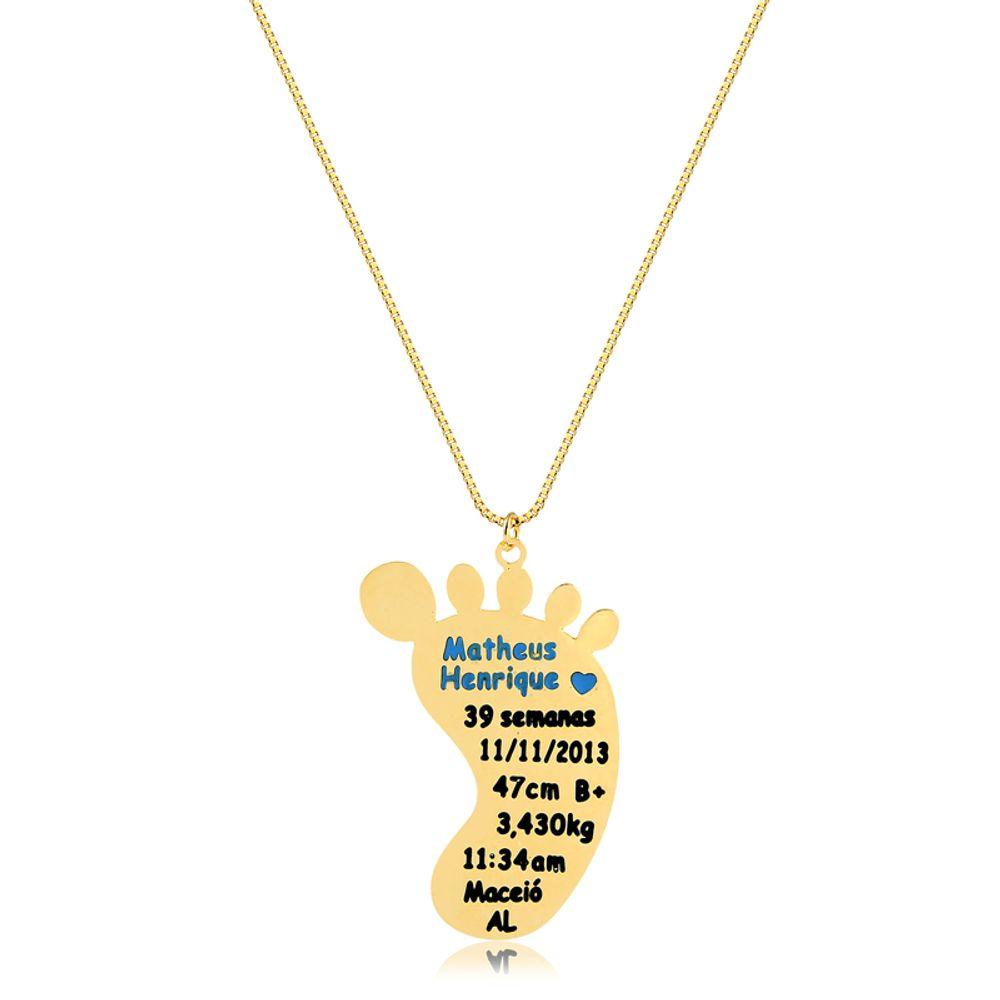 colar-personalizado-de-pezinho-banhado-a-ouro-18-k