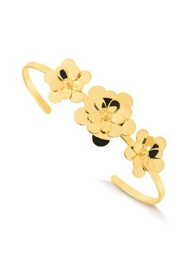 bracelete-com3-flores-banhado-a-ouro-18-k
