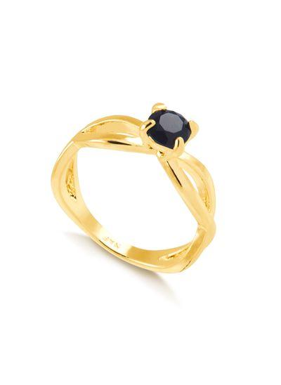 Anel-entrelancado-com-pedra-preta-banhado-em-ouro-18k