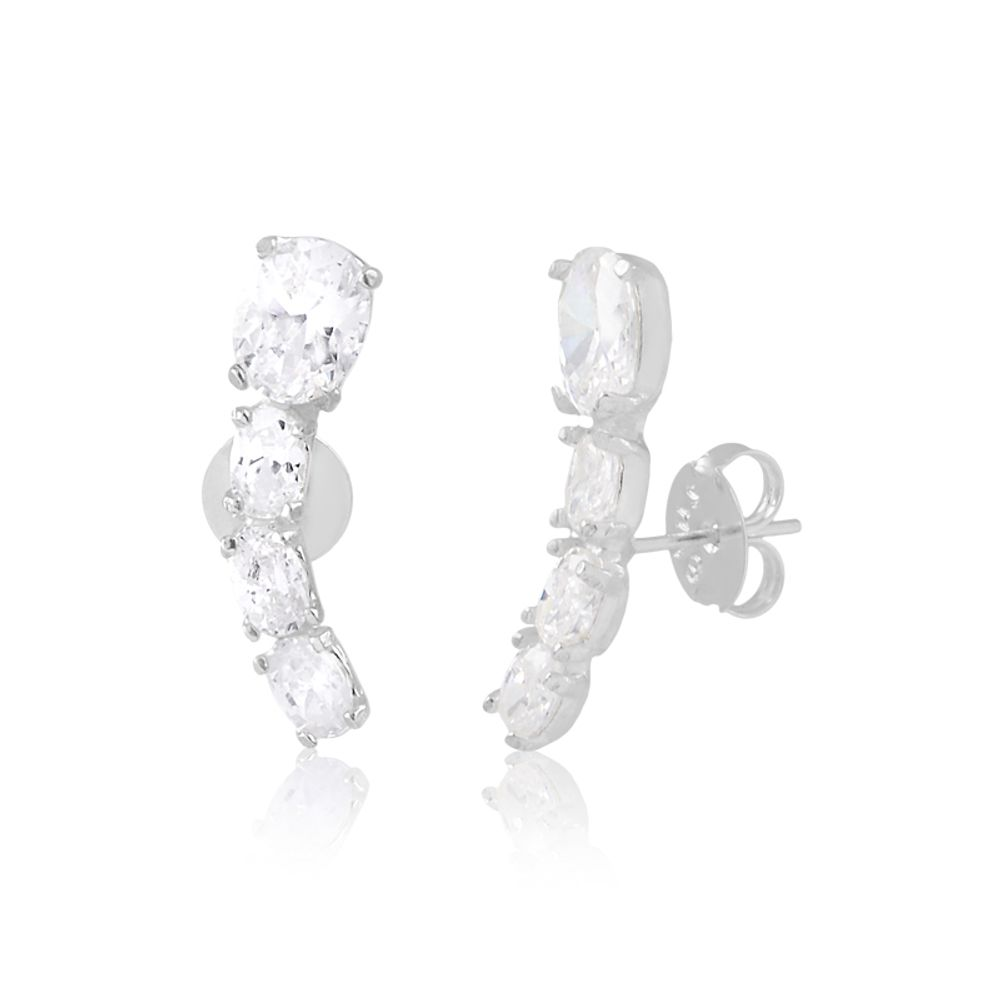 Brinco-ear-cuff-com-zirconias-cristais-em-prata-925