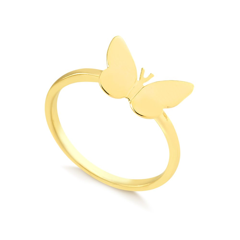 Anel-com-borboleta-lisa-banhada-em-ouro-18k