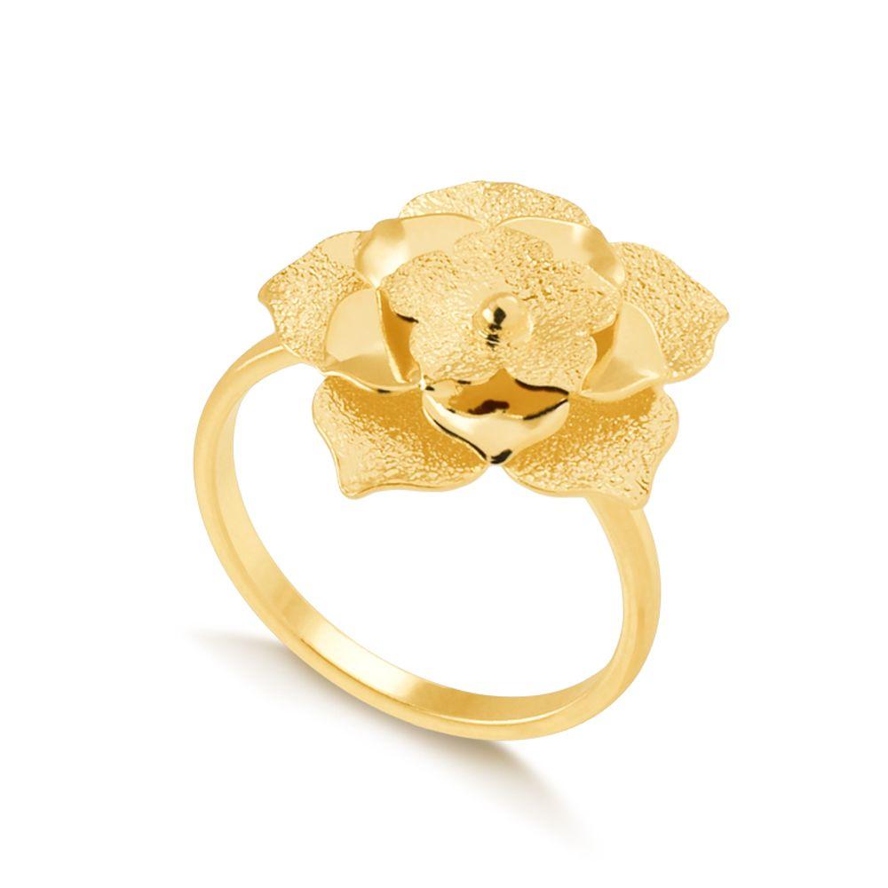 Anel-regulavel-com-flor-fosca-banhada-em-ouro-18k
