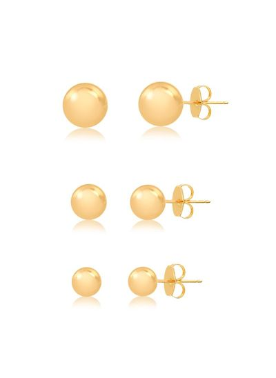 Trio-de-brincos-bolinha-banhado-em-ouro-18k