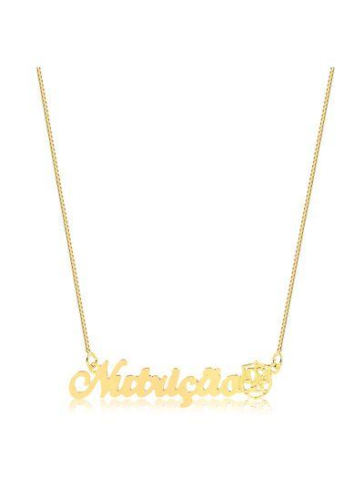 Colar-profissao-Nutricao-com-simbolo-banhado-em-ouro-18k