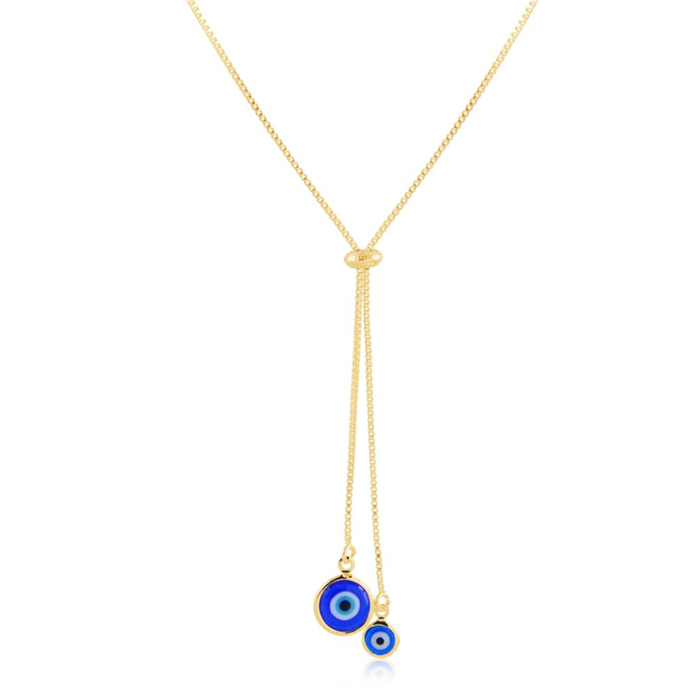 Colar-gravatinha-com-olho-grego-banhado-em-ouro-18k