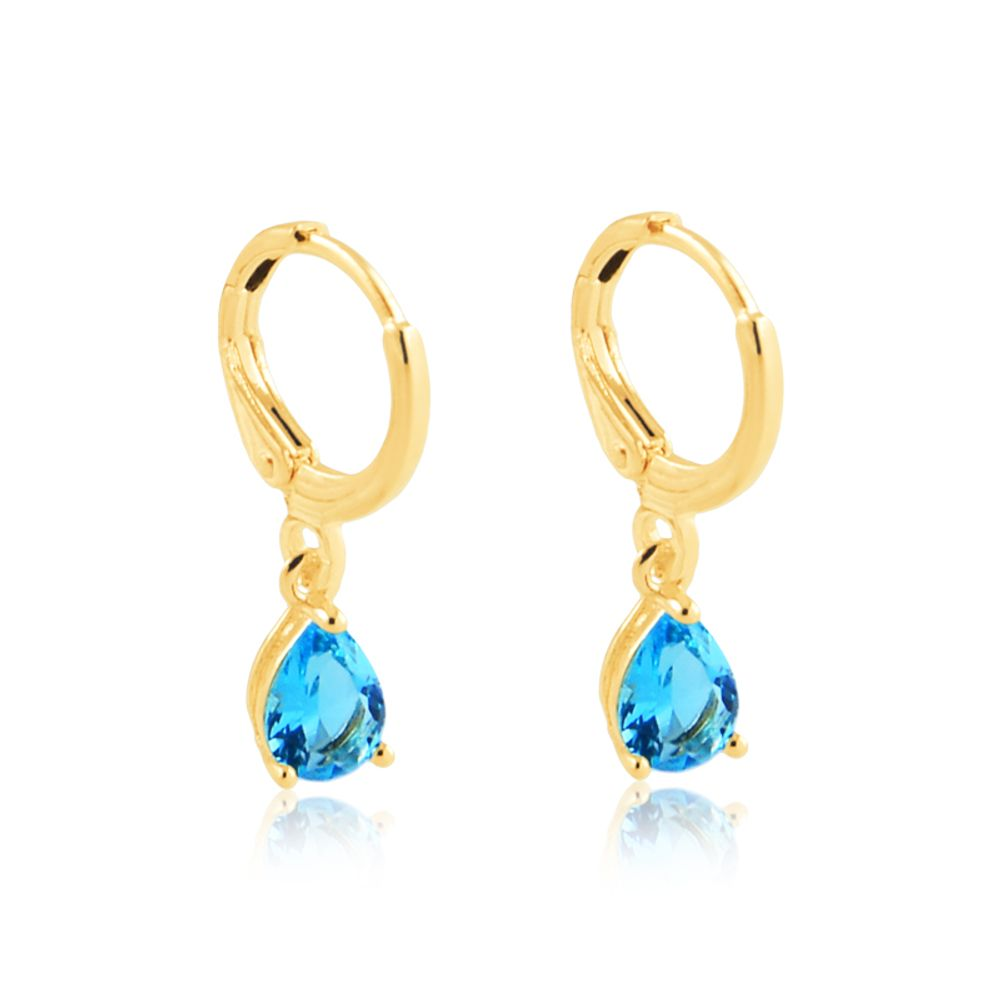 Argolinha-com-pingente-gota-azul-banhado-em-ouro-18k