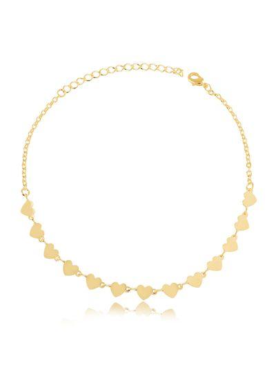 Tornozeleira-com-mini-coracoes-banhada-em-ouro-18k