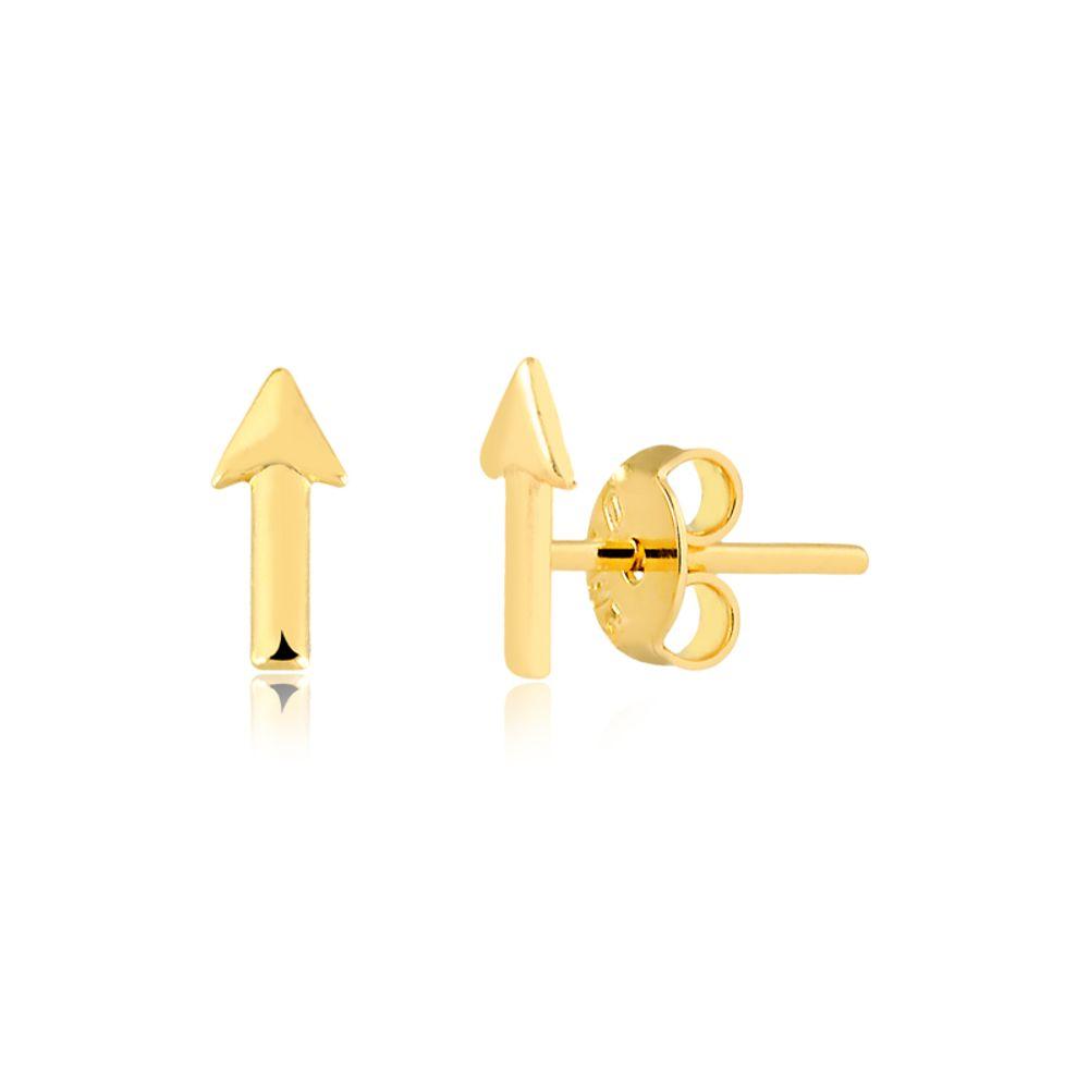 Brinco-flecha-banhado-em-ouro-18k