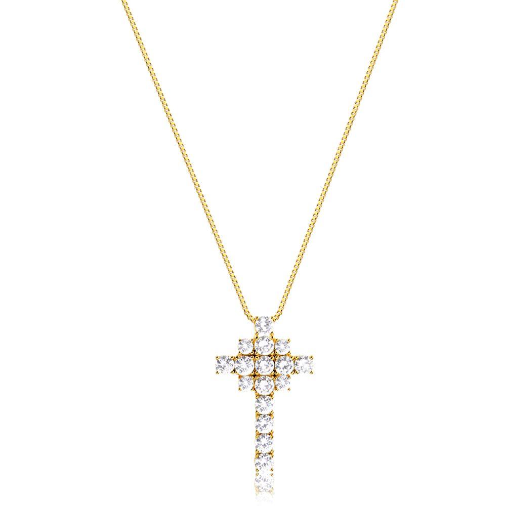 Colar-com-pingente-cruz-cravejado-com-zirconias-cristal-banhado-em-ouro-18k