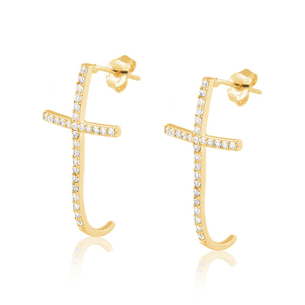 Brinco-em-formato-de-cruz-cravejado-com-zirconias-banhado-em-ouro-18k