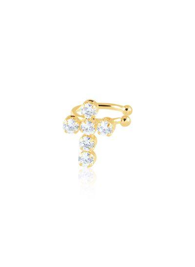 Piercing-fake-com-cruz-cravejada-com-zirconias-redondas-banhado-em-ouro-18k