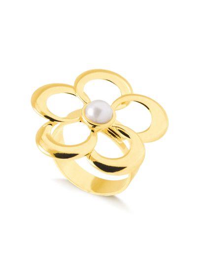 Anel-regulavel-flor-com-bolinha-centralizada-banhada-em-ouro-18k