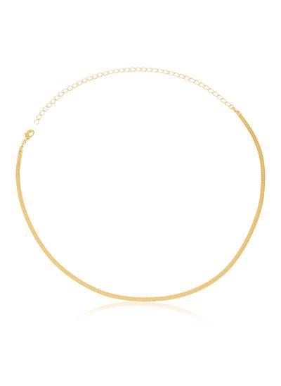 colar-com-design-fino-banhado-a-ouro
