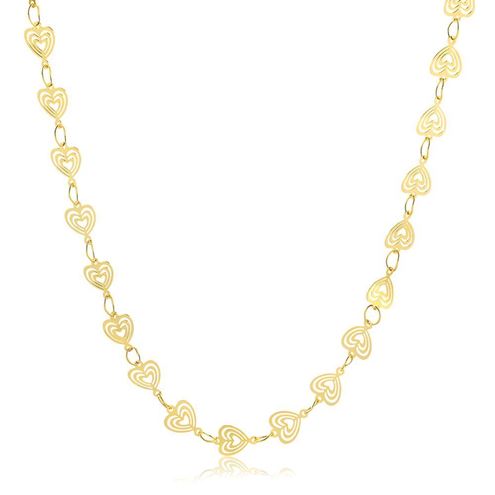 Colar-com-corrente-em-coracoes-triplos-banhado-em-ouro-18k