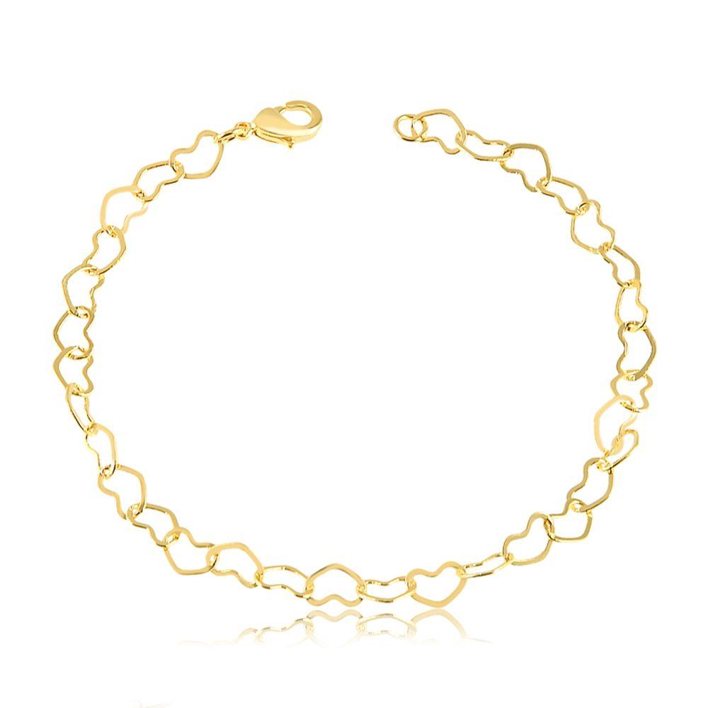 Pulseira-em-coracao-medio-vazado-banhada-em-ouro