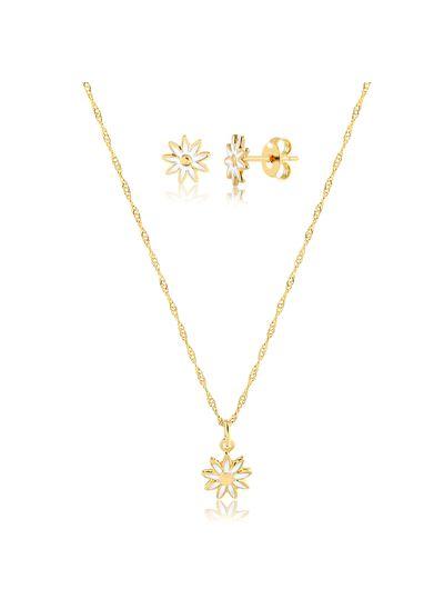 Conjunto-de-colar-com-brinco-florzinha-branca-banhado-em-ouro-18k