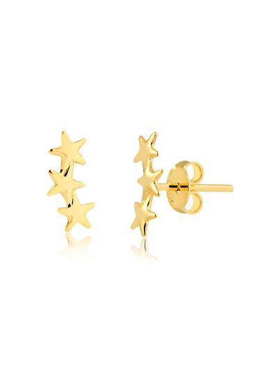Brinco-ear-cuff-com-estrela-pequena-banhado-em-ouro