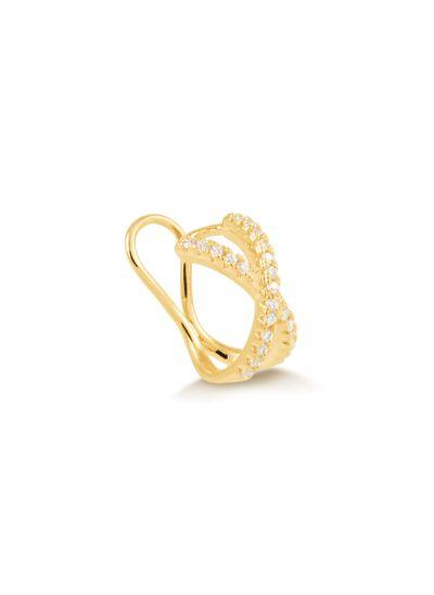 Piercing-fake-com-fios-entrelacados-cravejado-de-zirconias-banhado-em-ouro-18k